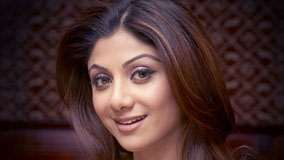 Shilpa Shetty Smiling Brown Eyes Face Closeup